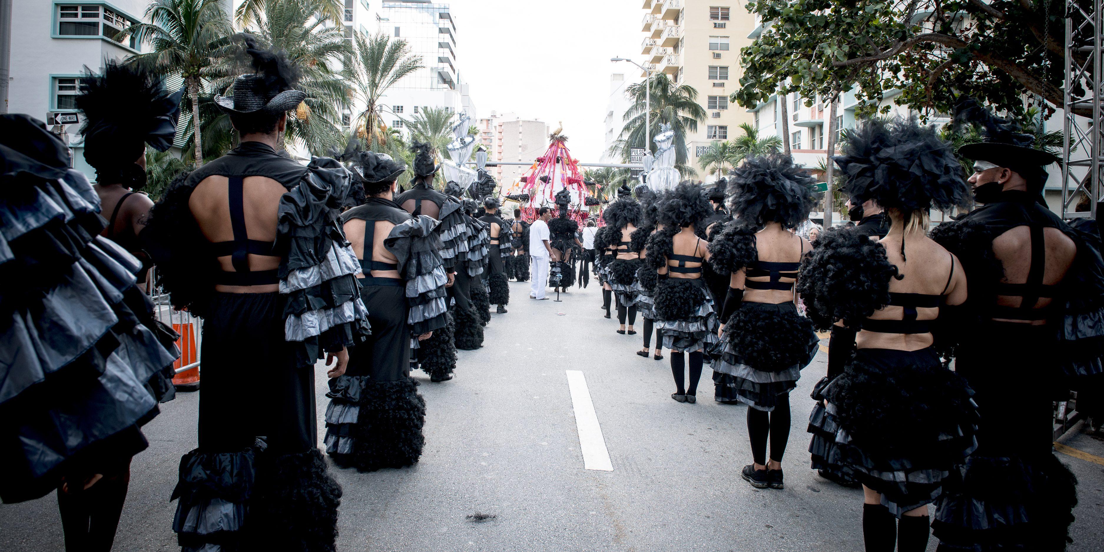 Los Carpinteros, Conga Irreversible. Photo Jorge Miño, courtesy Faena Art
