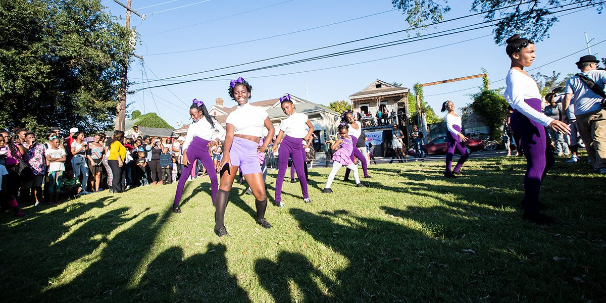 Betty Squad Gumbo Dancers. Photo Josh Brasted