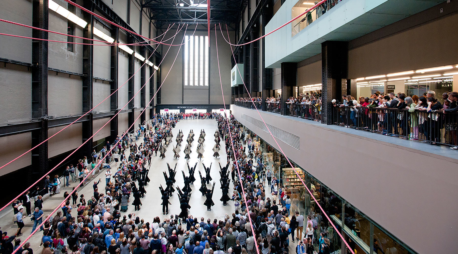 BMW Tate Live: Up Hill Down Hall: An Indoor Carnival. Photo Oliver Cowling © Tate, 2014