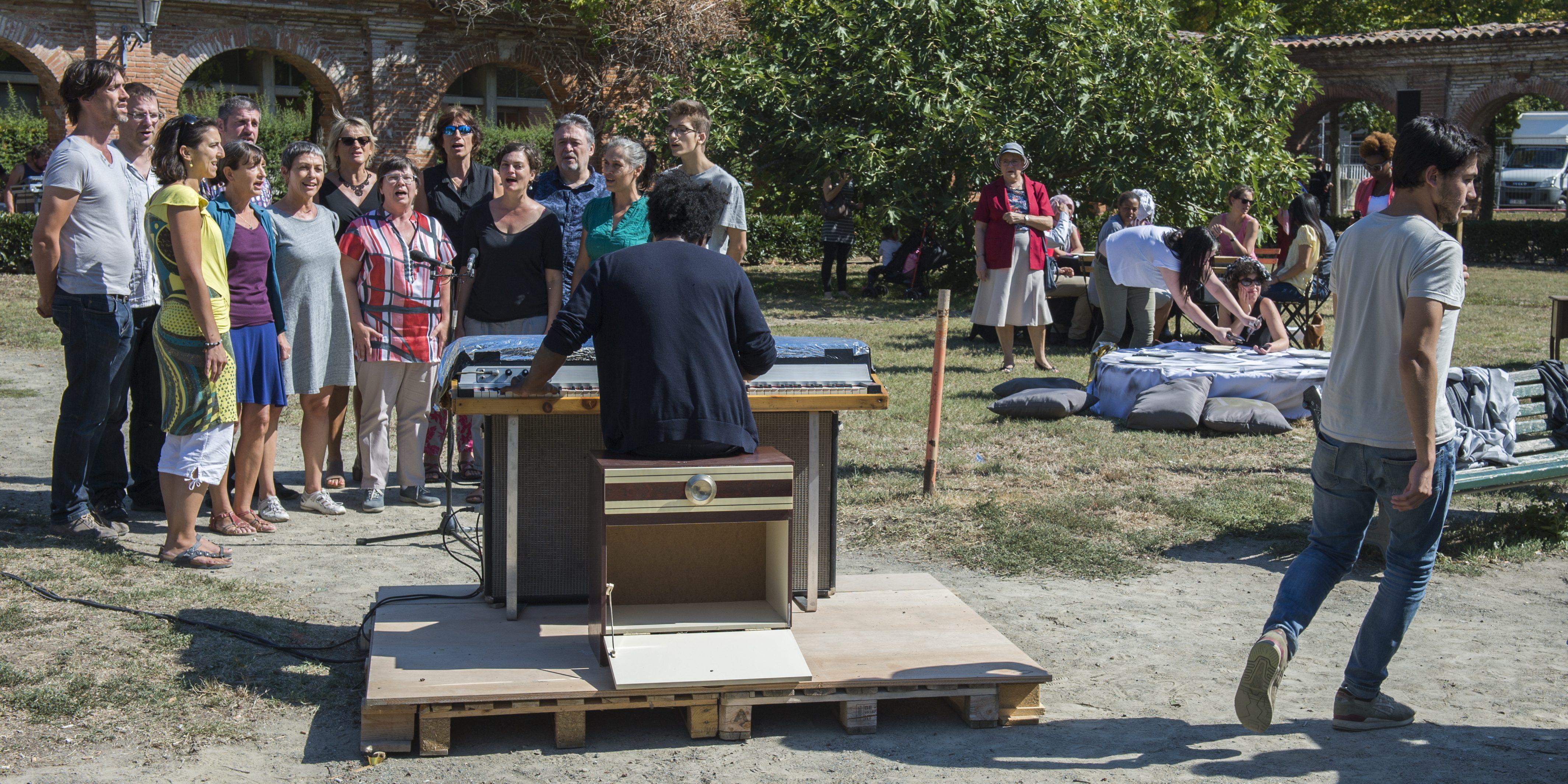 etcetera: un rituel public. repas-performance harmonisé. 12Toulouse by Christophe Chassol. Photo ®franckalix