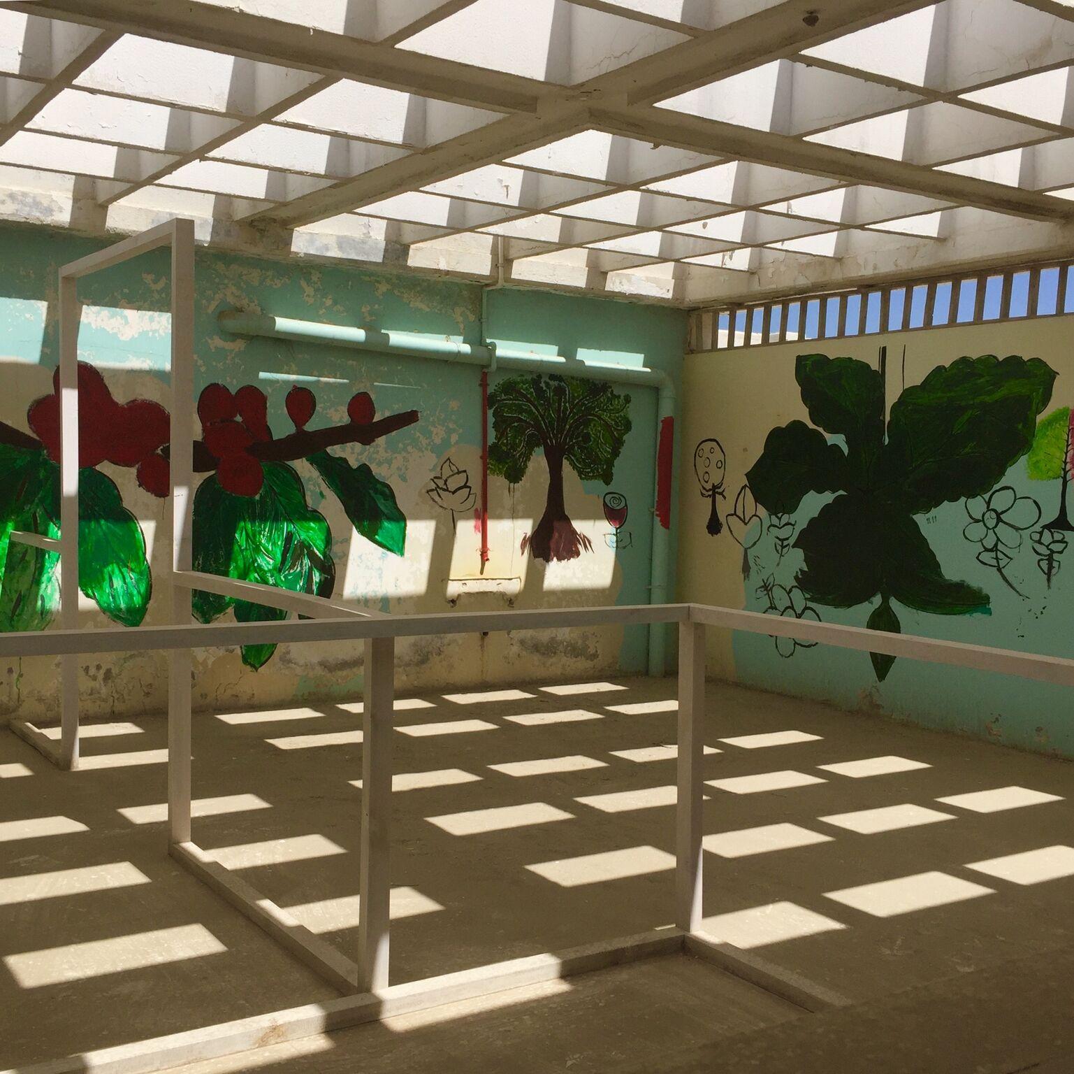 Mohamed Bourouissa, <br>  Blida-Joinville, 2018–2019, Kalba Kindergarten. Photo Muriel Quancard