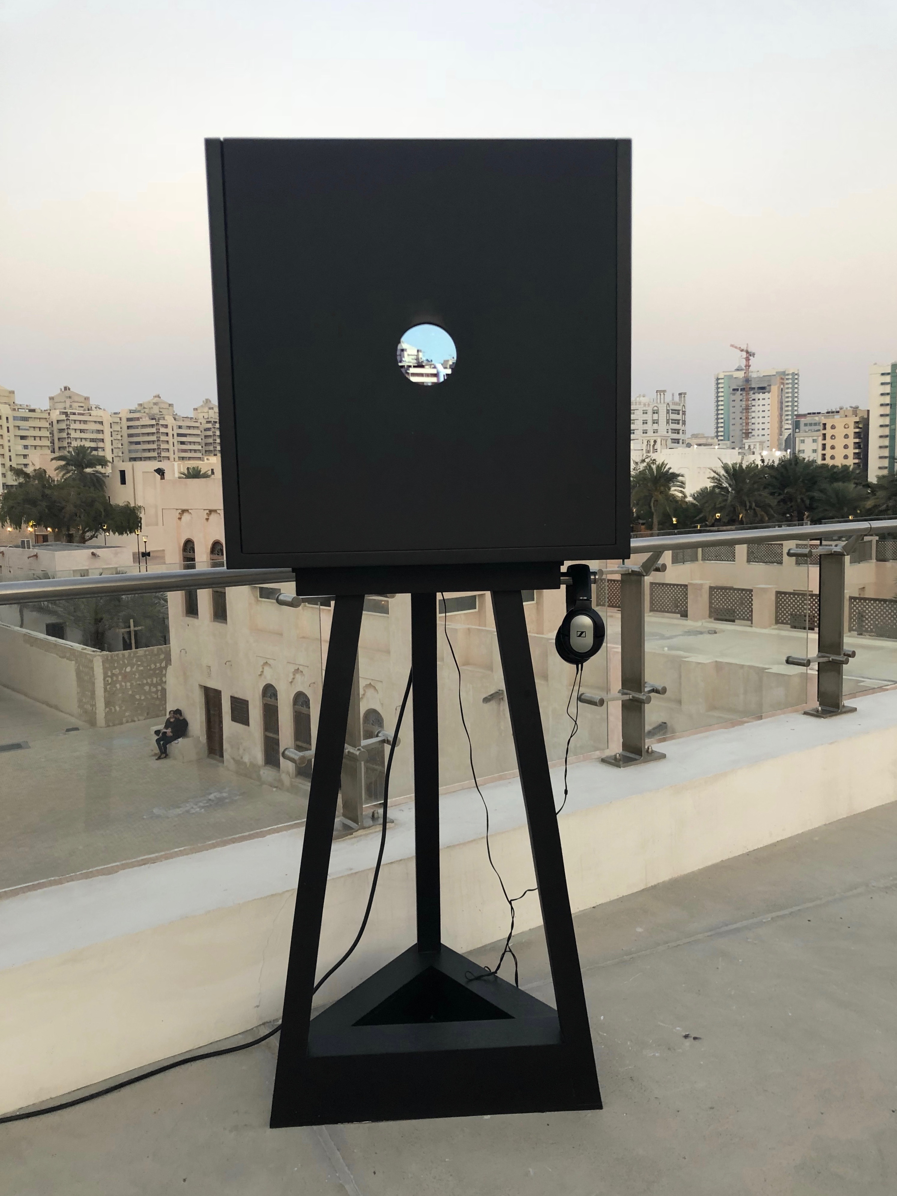 Alaa Edriss, The Black Boxes of Observational Activity, 2019. Photo CT
