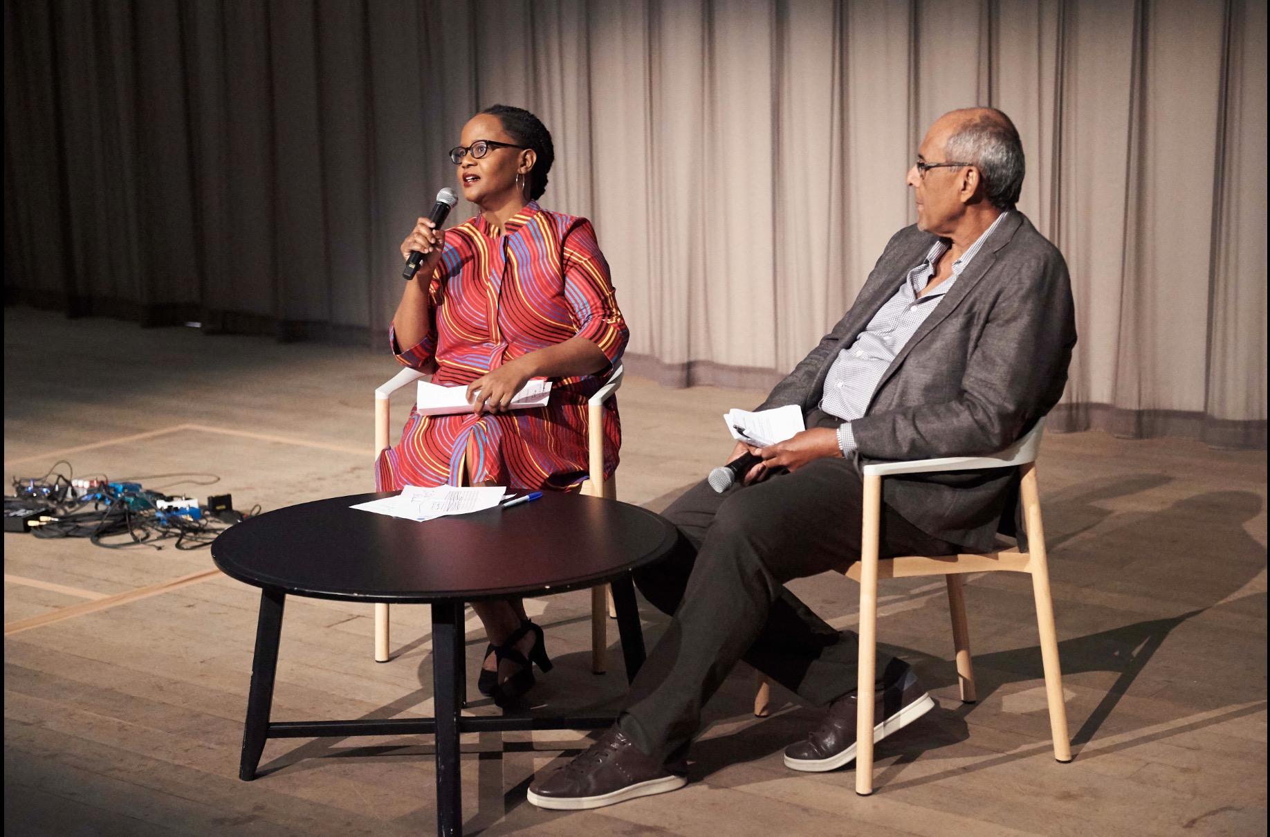 Edwige Danticat and Michael Dash in conversation about Edouard Glissant's Tout-Monde