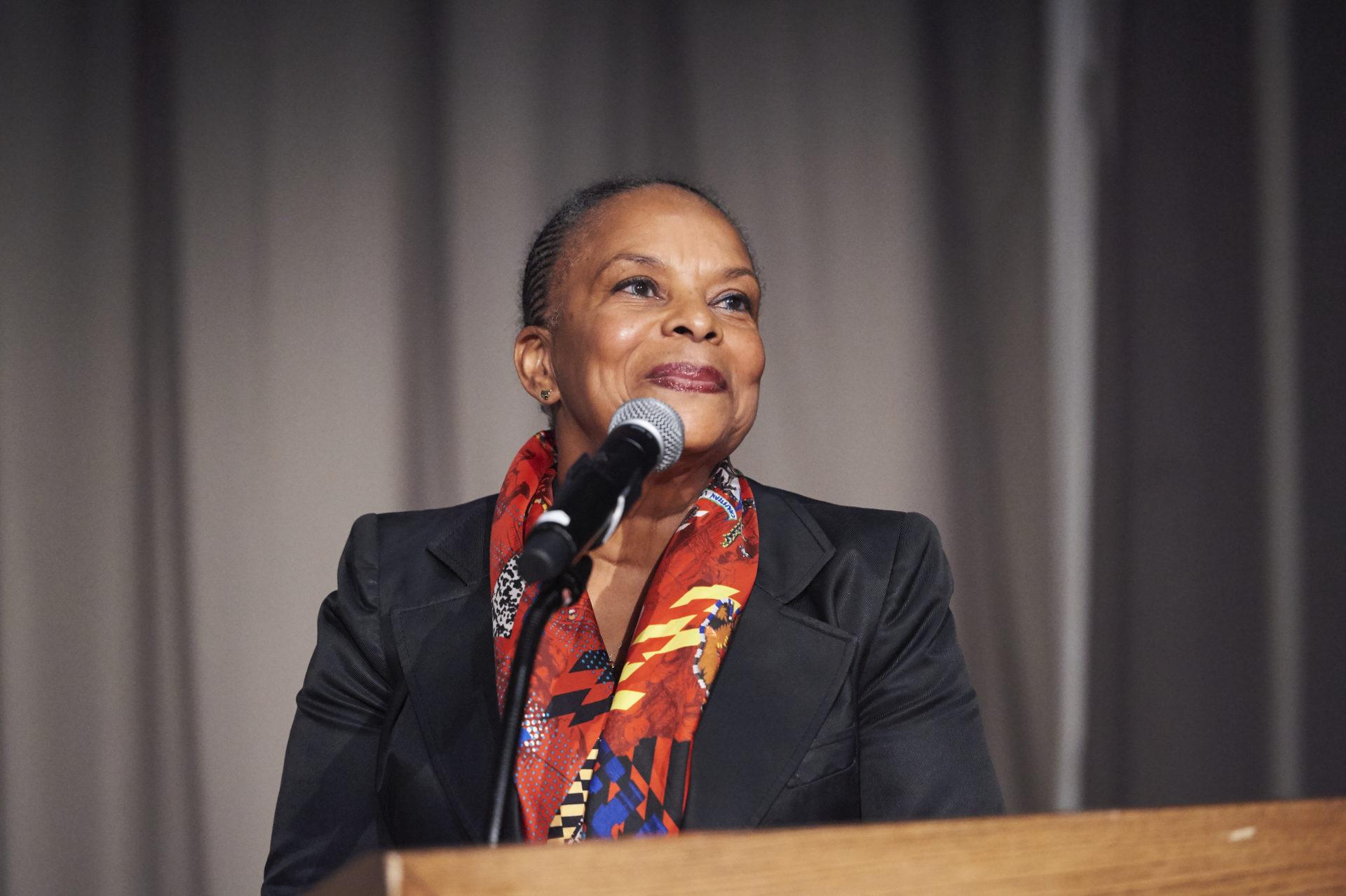Christiane Taubira keynote