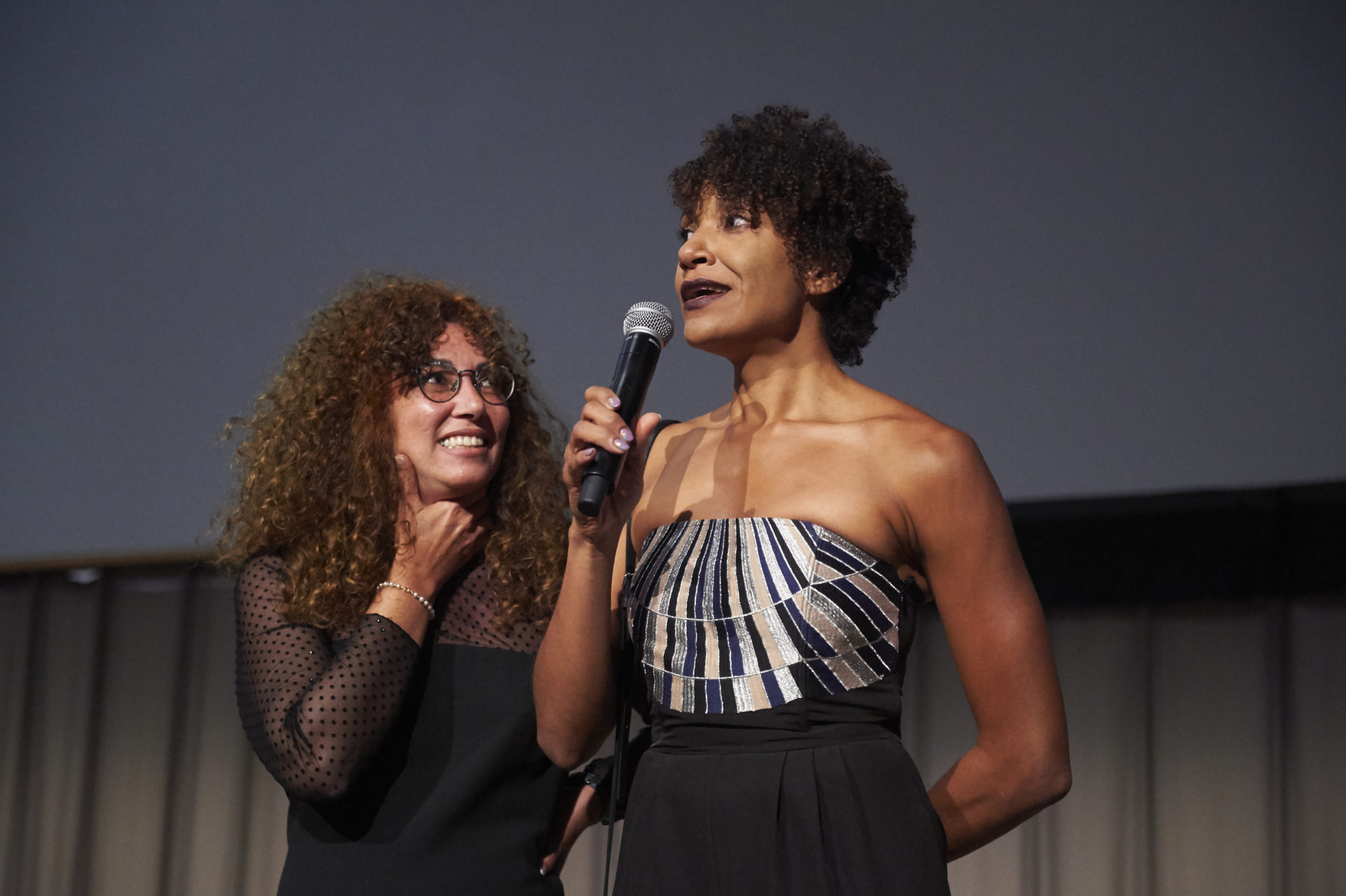 Johanna Auguiac and Claire Tancons, Hétéronomonde curators