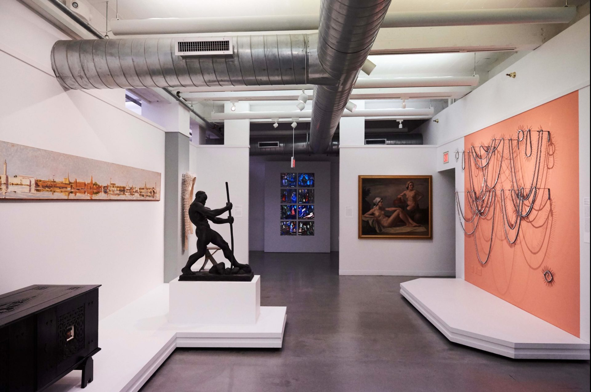 Kenny Dunkan, Figure One, Wolfsonian galleries